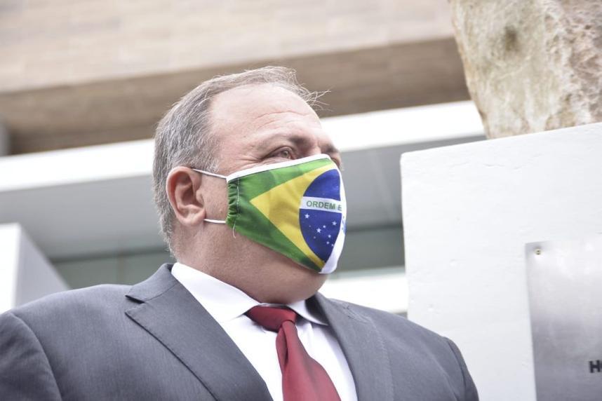 Pazuello muda o tom e passa defender isolamento e restrições de horário (Foto: Jucimar de Sousa / Mais Goiás)