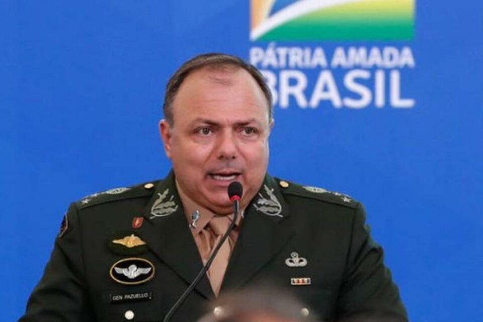 Ex-ministro da Saúde Eduardo Pazuello