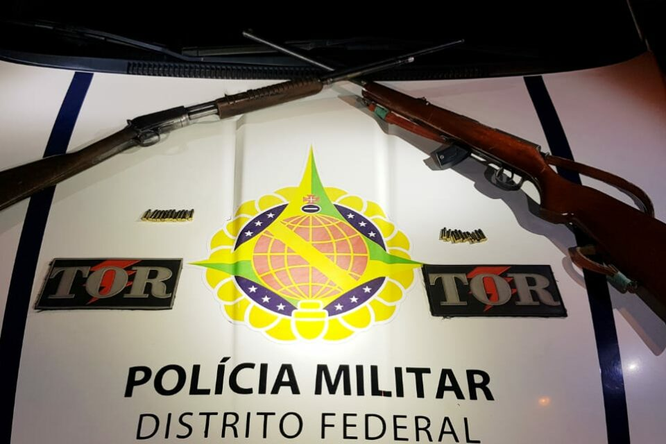 PMDF localiza fuzis em Brazlândia