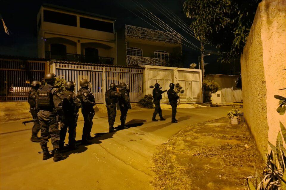 Operação da PCDF para desarticular quadrilha que realizava transações bancárias fraudulentas no DF e Goiás