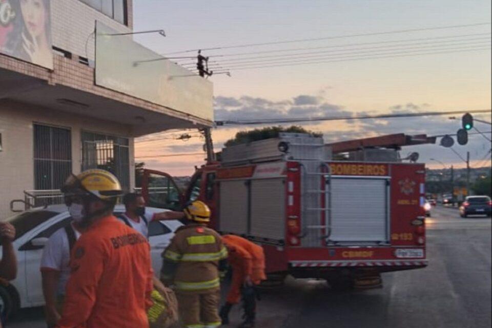 Homem morre após sofrer choque elétrico em Taguatinga