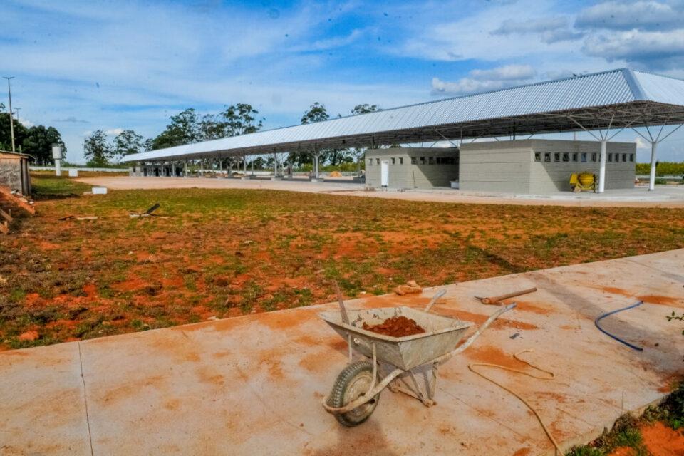 Construção terminal de Santa Maria