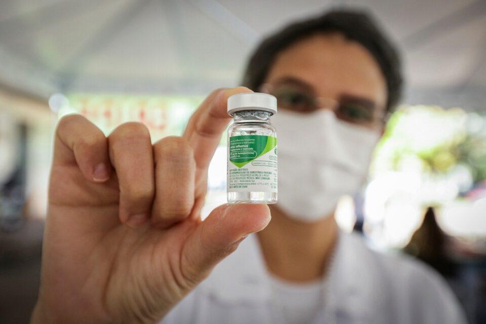 dose da vacina da gripe no DF