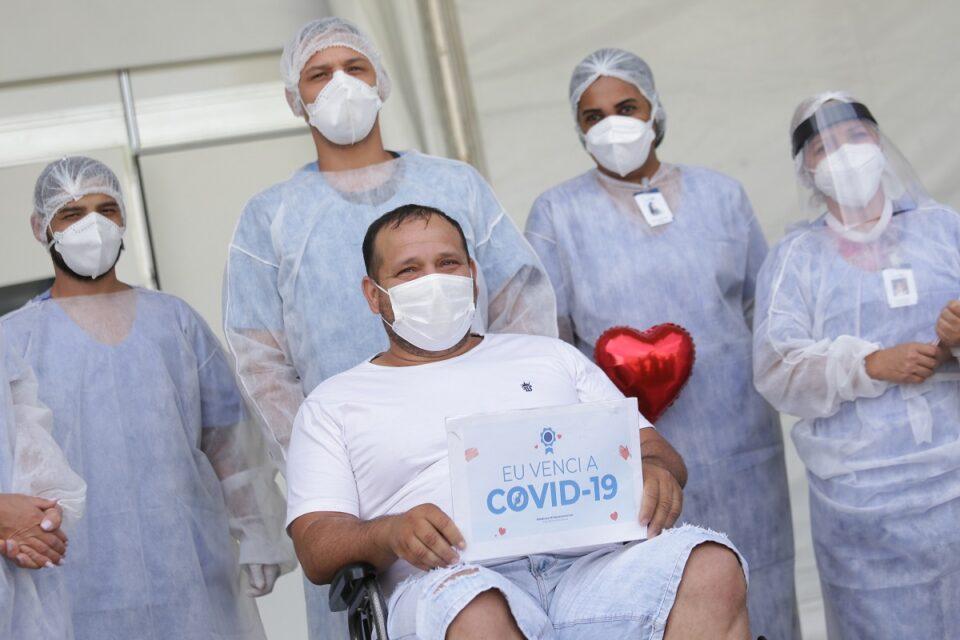 Evaldo Rodrigues é um dos mais de 300 mil pacientes atendidos no DF que se curaram da covid-19