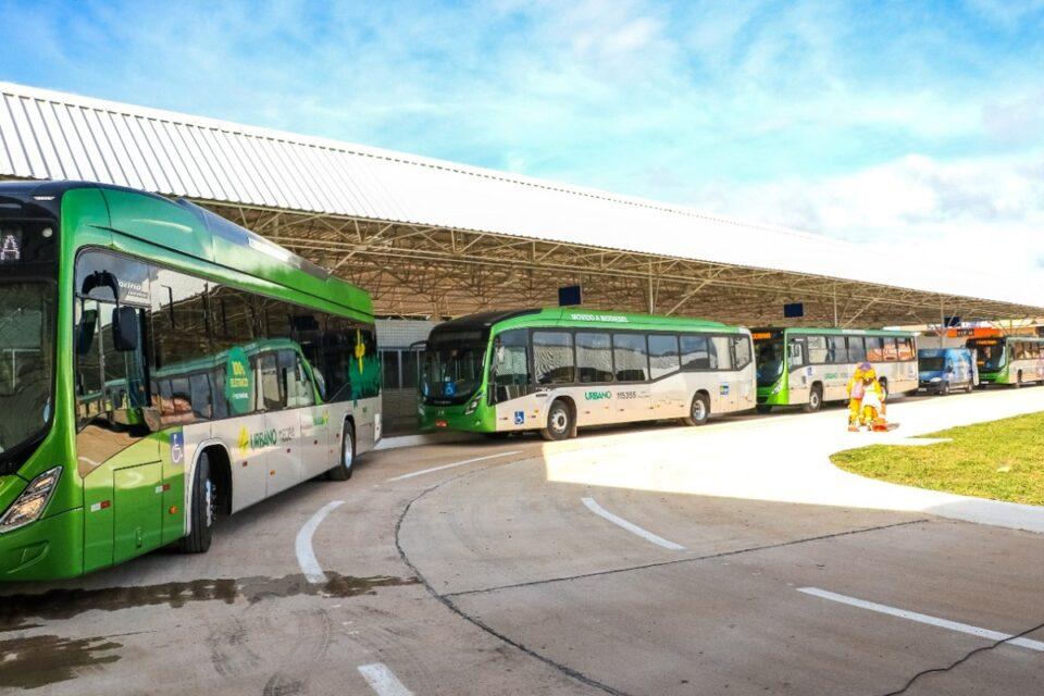 O transporte público coletivo do Distrito Federal recebeu 30 ônibus novos