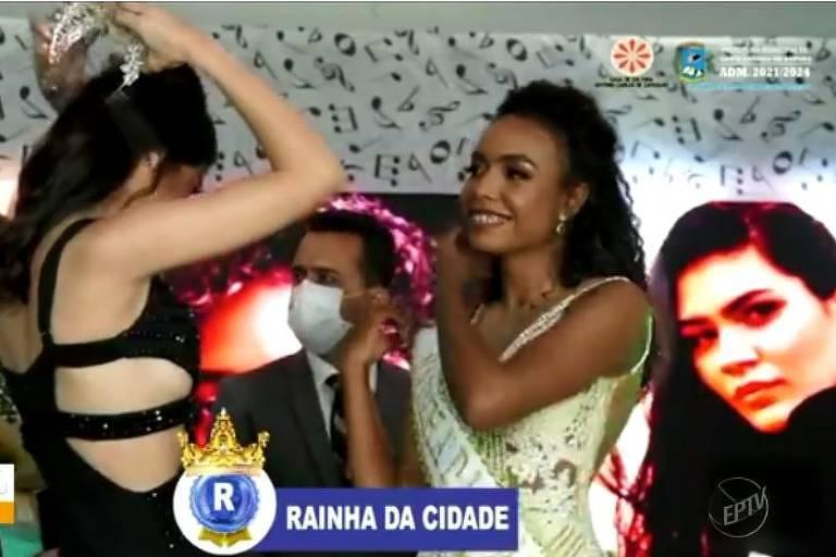 Miss de concurso de beleza sofre racismo