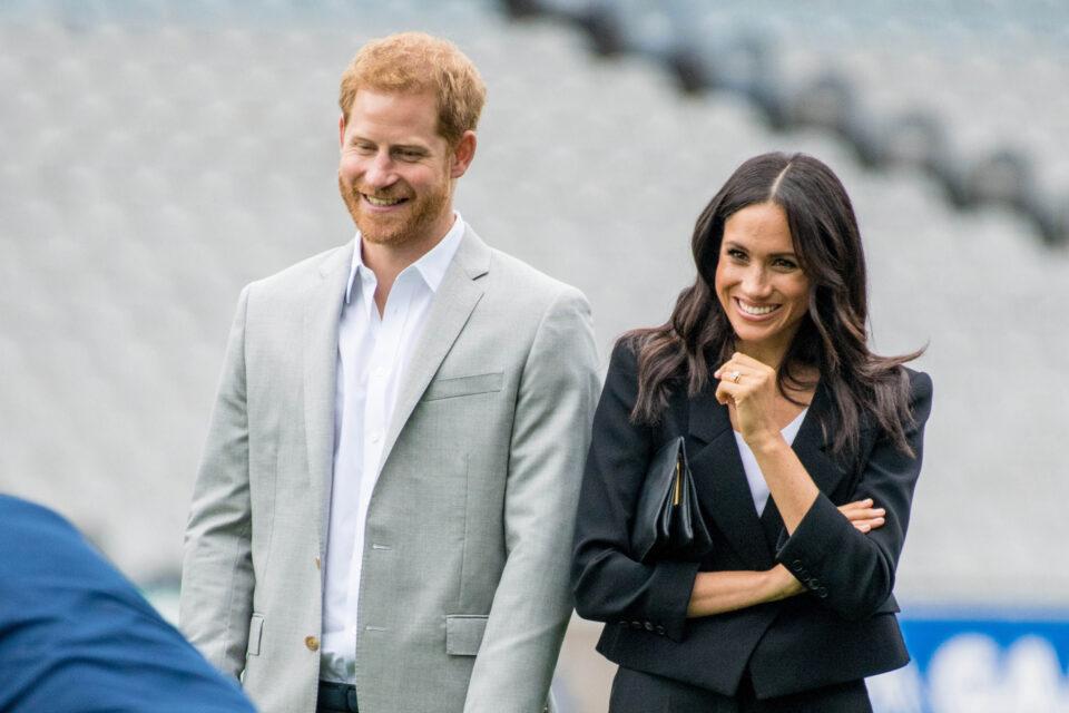 Duquesa Meghan Markle e o Príncipe Harry em Dublin
