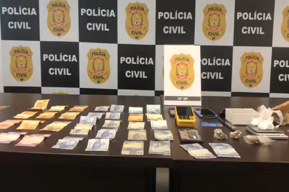 PCDF prende soldado da Aeronáutica por tráfico de drogas