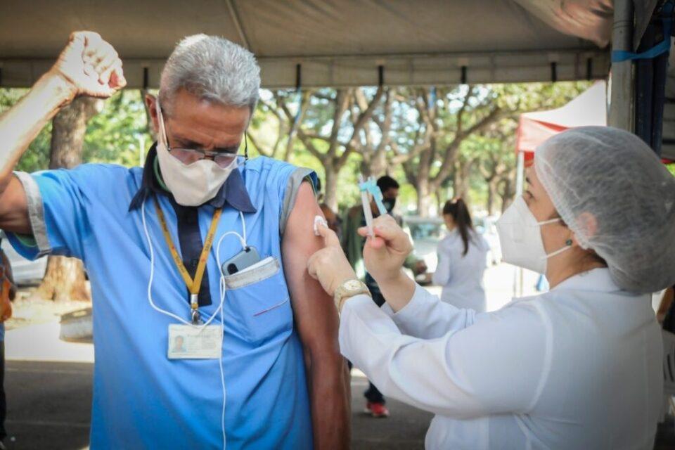 Rodoviários vacinados