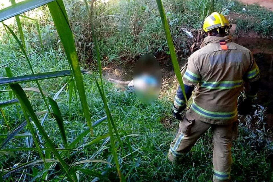 Homem morre afogado no Córrego Fumal