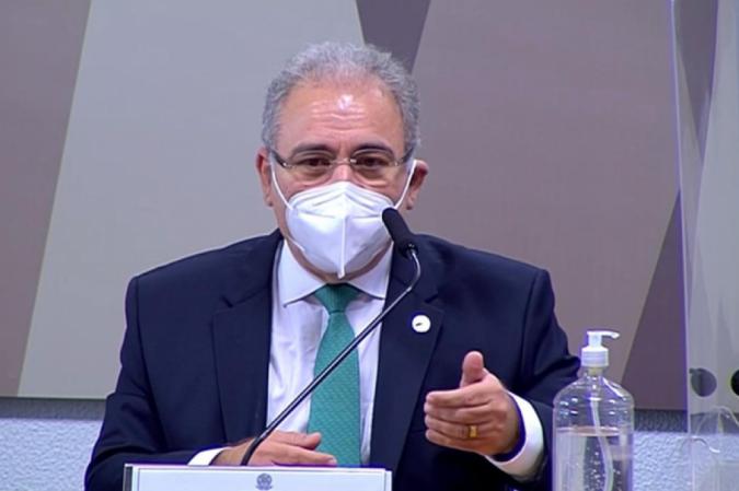 Marcelo Gueiroga, Ministro da Saúde