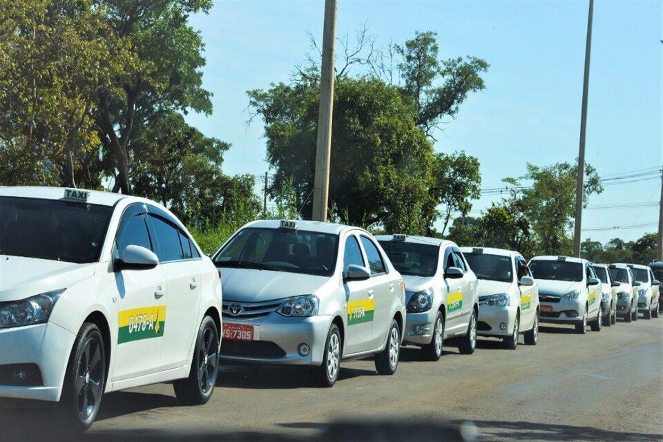 Auxílio dos taxistas no DF