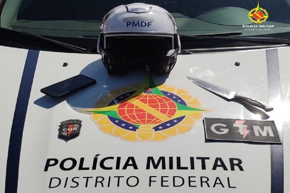 PMDF prende homem por roubo de celular