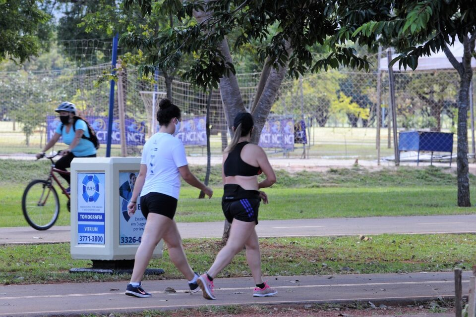 Pista de caminhada do Parque da Cidade