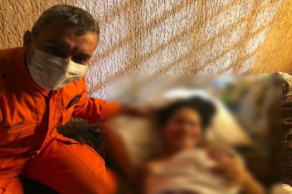 Corpo de Bombeiros do DF ajuda grávida a dar luz em casa