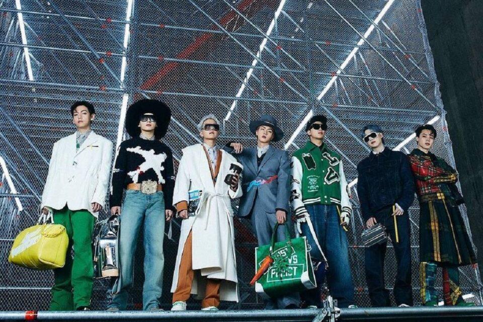 BTS apresenta nova coleção da Louis Vuitton
