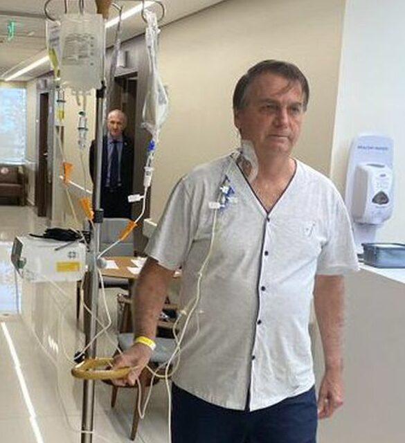Jair Bolsonaro no hospital