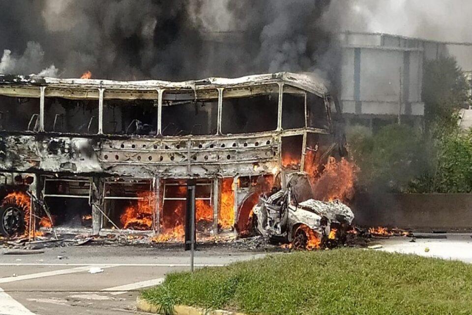 Acidente em São José dos Campos